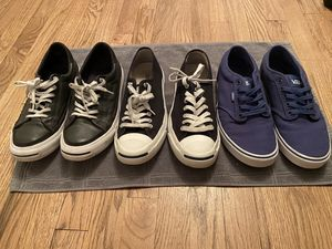 Vans and Converse Men's Shoes Size 9 for Sale in Sheridan, CO