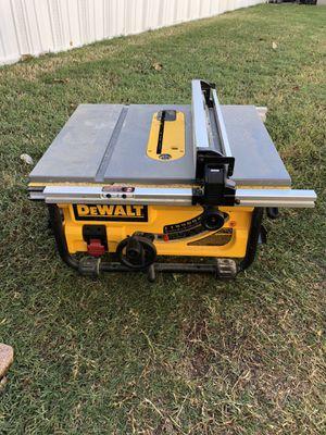 DeWalt table saw for Sale in Lewisville, TX