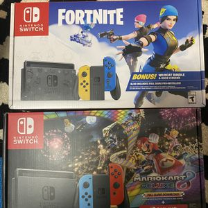 Nintendo Switch New Sealed Fortnite Edition Or Mariokart 8 New Sealed Box for Sale in Danbury, CT