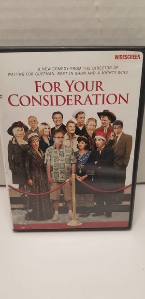 For your consideration dvd for Sale in Bluff City, TN