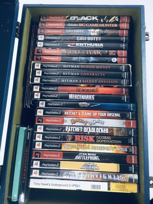 PS2 Games - Starting at $5! - Ratchet & Clank, Call of Duty, Hitman, Star Wars, Harry Potter for Sale in Crestline, CA