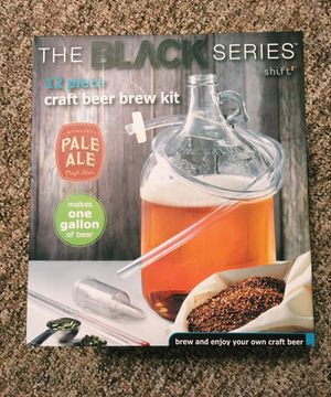 The Black Series By Shift3 12 piece Craft Beer Brew Kit for Sale in Orlando, FL