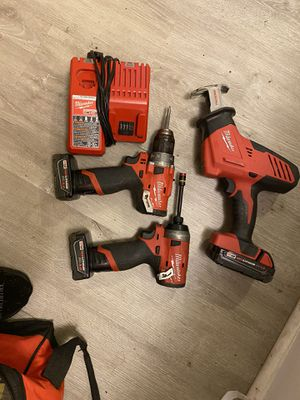 Milwaukee m12 & m18 fuel combo set 120$ for Sale in Greenville, SC