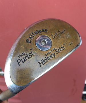 Callaway The Purist Billy Casper Hickory Stick Putter for Sale in Dallas, TX