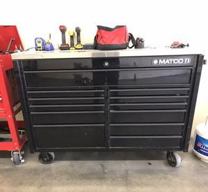 """Matco4 55"""" tool box for Sale in El Monte, CA"""