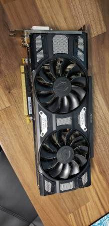EVGA GTX 1070 8GB DDR5