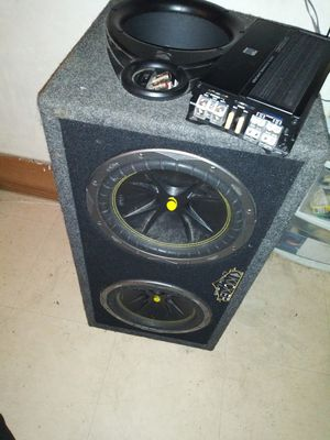 Car audio car sounds for Sale in Chicago, IL