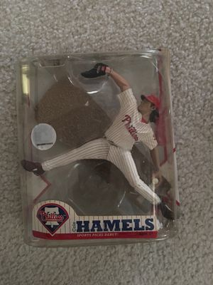 Cole Hamels Action Figure Home Pinstripe Jersey Sports Picks Exclusive asking $20 for Sale in Charlotte, NC