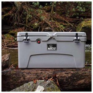 NICE 75-QUART DOUBLE-WALL INSULATED COOLER W/ HANDLES, GRAY for Sale in Fresno, CA