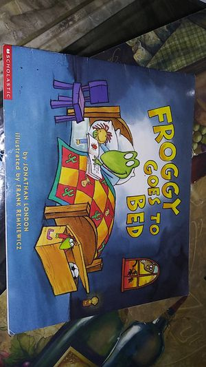 Froggy goes to bed book for Sale in Charlotte, NC