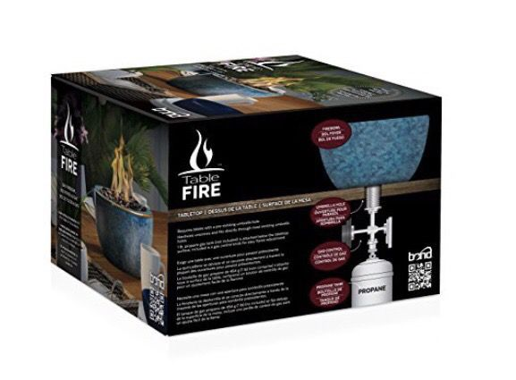 Tabletop Fire Bowl (Propane) new in box