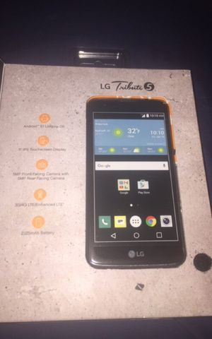 LG TRIBUTE 5 boost for Sale in Silver Spring, MD