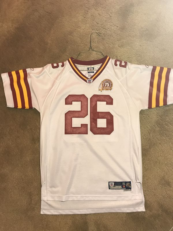 Vintage Redskins Clinton Portis Jersey (75 anniversary editition)