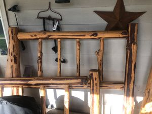Log bed frame queen for Sale in Forest Grove, OR