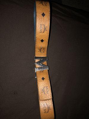 Authentic MCM Cognac reversible belt (older model) for Sale in Winter Haven, FL
