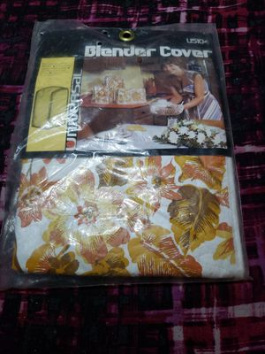 Retro Vintage Blender Cover By Universal Item /W Floral #U5104 for Sale in Bonney Lake, WA