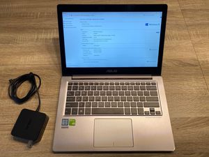 ASUS ZenBook UX303UB- Intel Core i7 2.5Ghz 12GB RAM 512GB SSD Hard Drive. Touch screen, Microsoft Office 2013, Antivirus included. for Sale in Miami, FL