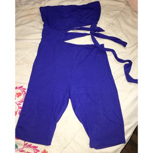Blue Romper /dress (size L) for Sale in Fort Washington, MD
