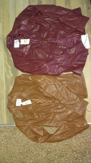 $229.00 COLE HANN WOMEN'S LEATHER JACKET for Sale in Greenbelt, MD