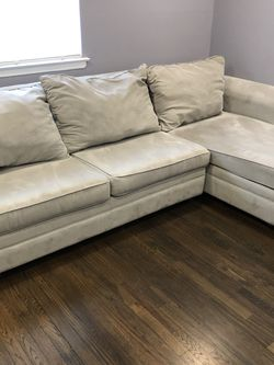 Sofa with Chaise and Pull-out mattress for Sale in Rockville Centre,  NY
