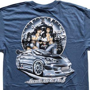 Vintage Skyline GTR Zum DYKOM Racing Drifting Car Girls Tee for Sale in San Diego, CA