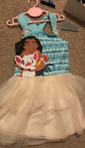 Moana dress size 5 for Sale in Grand Prairie, TX