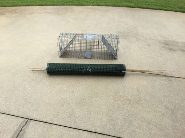 HAVAHEART Live Animal Trap and 50' fencing