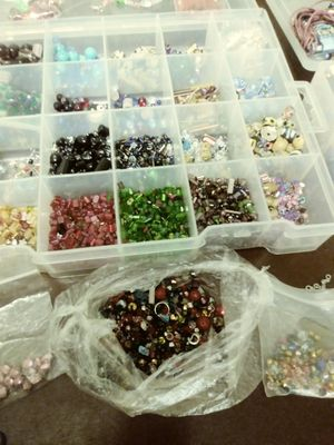 Jewelry making beads findings etc. for Sale in Benicia, CA