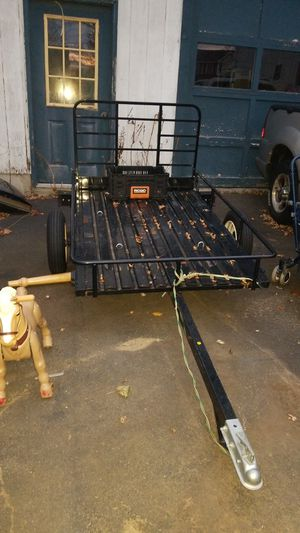 Utility trailer new condition $450 for Sale in Haverhill, MA