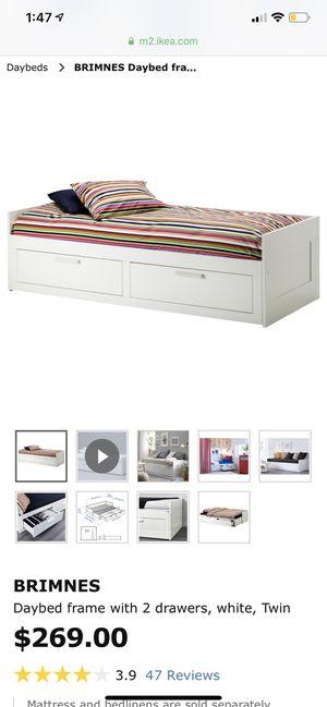 IKEA twin to full bed for Sale in Santa Barbara, CA
