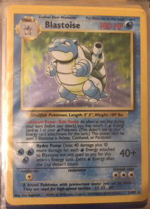 Blastoise Pokemon Cards for Sale in Pennsauken Township, NJ
