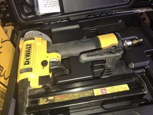 Dewalt 18GA finish nail gun for Sale in Dallas, TX