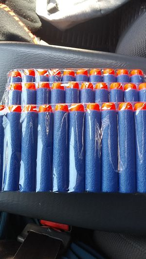 30 Nerf Gun Bullets!!! for Sale in Los Angeles, CA