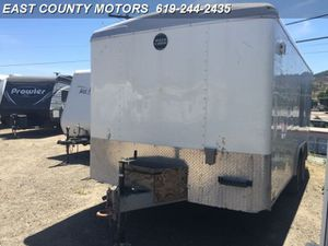 Enclosed cargo trailer 2016 16x8 Wells Cargo for Sale in Lakeside, CA