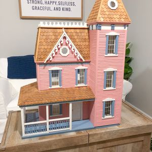 Victorian wooden Dollhouse for Sale in Gainesville, VA