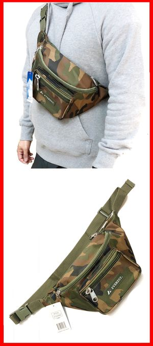 NEW! Large Camouflage Waist / Shoulder Side Bag rave fanny pack crossbody bag waist pack music Festival chest bag pouch for Sale in Carson, CA
