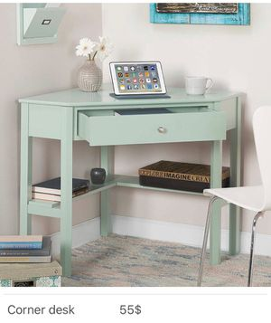 Brand new corner desk -$55 FIRM - Assembly required for Sale in Dallas, TX