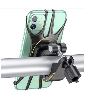 Bike Phone Mount, 360°Rotation Phone Holder for Bike with Adjustable Universal Handlebar Cradle Compatible with iPhone 12/11 Pro Max XR/XS Max/8/7/ P for Sale in Anaheim, CA