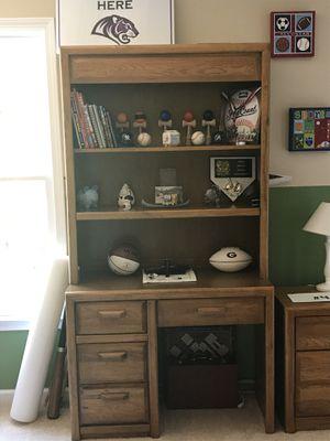 Bookshelves (2)-One with Desk, One with Dresser for Sale in Alpharetta, GA