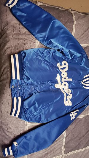 Vintage satin Dodgers Starter Jacket SZ Lg for Sale in Sioux Falls, SD