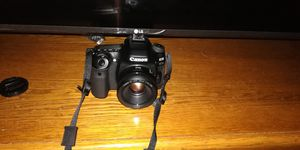 Canon EOS 80D with 50mm 1.8 and kit lenses for Sale in Dallas, TX