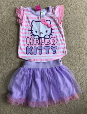 hello kitty Skirt & Top Set size 3y. in excellent condition (pick up only) for Sale in Alexandria, VA