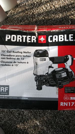Porter Cable coil roofing nail gun for Sale in Fresno, CA