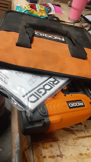 Ridgid finish nailer slightly used for Sale in Little Elm, TX