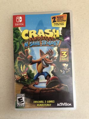 Crash Bandicoot - Nintendo Switch for Sale in Westminster, CO