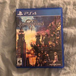 Kingdom Hearts III Game for Sale in Santa Clarita, CA