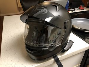 Small Arai Signet-Q Motorcycle Helmet with Sena 20s for Sale in San Francisco, CA