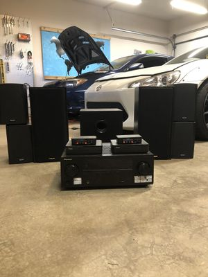 Surround sound system for Sale in Tacoma, WA