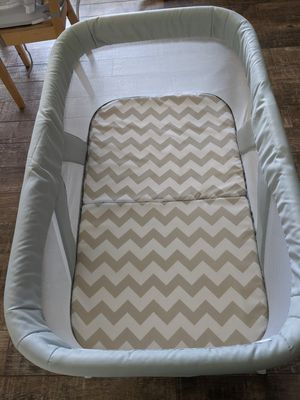 Bassinet Fold Travel Crib Portable Newborn Baby for Sale in Redlands, CA