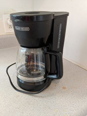 Black and Decker Coffee Machine / coffee maker for Sale in Denver, CO
